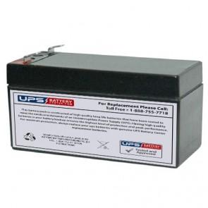 JYC GP1.3-12 12V 1.3Ah Battery