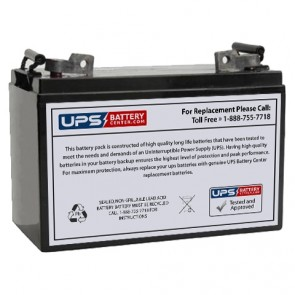 Plus Power PP12-120S 12V 110Ah Battery
