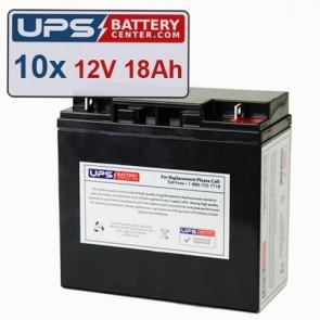 GE Medical Systems AMX II Batteries - Set of 10