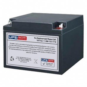 R&D 5392 12V 26Ah Battery