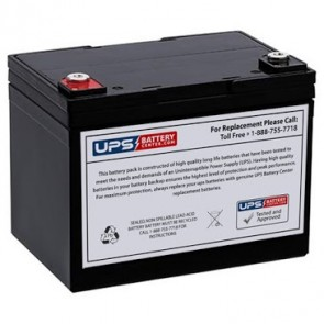 Plus Power PP12-33 F11 Insert Terminals 12V 33Ah Battery