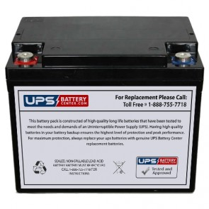MCA NP38-12AQ 12V 38Ah Battery