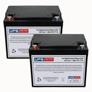 PHS West Inc Ergo Express 3000 Cart Battery 2/Unit Required