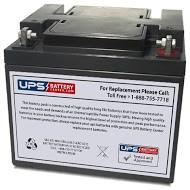Plus Power PP12-45 12V 45Ah Battery