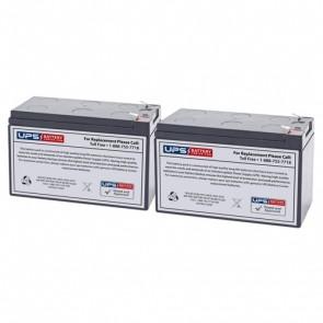 Altronix AL1024ULMR 12V 7.2Ah Batteries