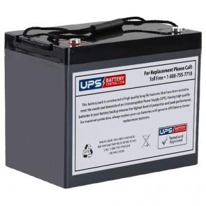SeaWill LSW1290T F9 Insert Terminals 12V 90Ah Battery