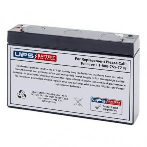 12V 2.9Ah Rechargeable Ride-on Toy Battery