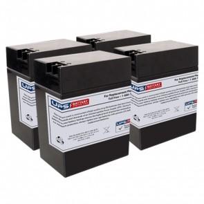 3M Healthcare Blood Pump 6V 14Ah Medical Batteries with FP Terminals
