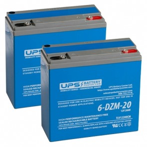 goGreen ET-3 MB 24V 20Ah Battery Set