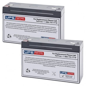 Prescolite ERB-0620 Batteries