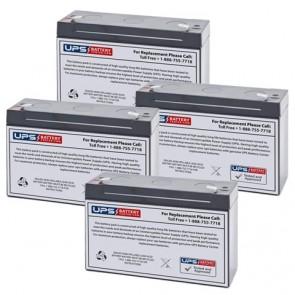 Prescolite ERB-1224 Batteries