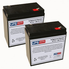 Datex-Ohmeda Transport Isolette Batteries - Set of 2
