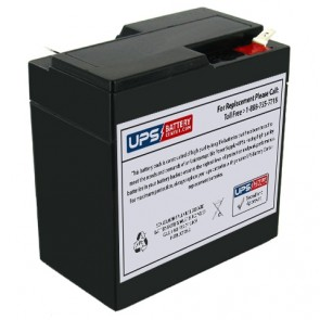 Power Patrol 6V 6.5Ah SLA0935 Battery with +F2 -F1 Terminals