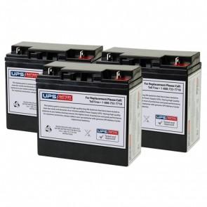 Alpha Technologies ALI Elite 1500TXL (017-747-215) Compatible Replacement Battery Set