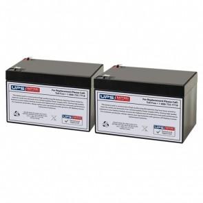 Altronix AL1002UL2ADAJ 12V 12Ah Replacement Batteries