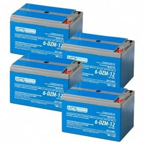 Amego Cyclone 48V 12Ah Battery Set