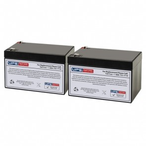 APC Back-UPS Pro 1000VA BK1000 Compatible Battery Set