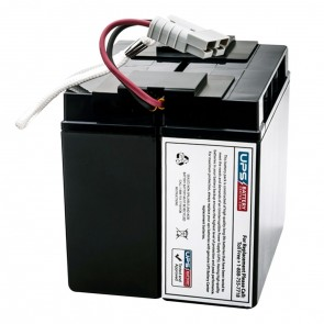 APC Back-UPS Pro 1400VA w/L5-15p + L5-15R BP1400X116 Compatible Battery Pack