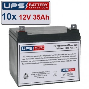 Best Power FERRUPS FE 10KVA Compatible Replacement Battery Set