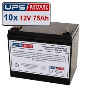 Best Power FERRUPS FE 18KVA (12v 80ah) Compatible Replacement Battery Set