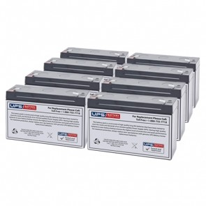 Best Power Fortress LI 1800 BAT-0063 Compatible Replacement Battery Set