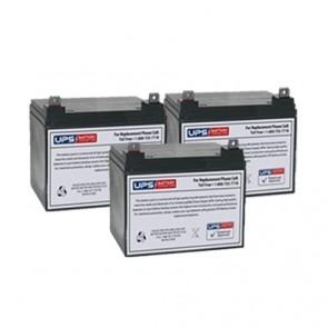 Best Power Fortress LI 3.0KVA BAT-0065 Compatible Replacement Battery Set