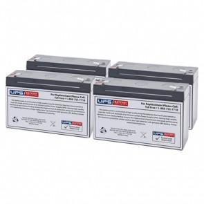 Best Power LI 1020 (Fortress) Compatible Replacement Battery Set