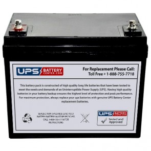 Cellpower 12V 60Ah CPX 60-12 Battery with M6 Insert Terminals