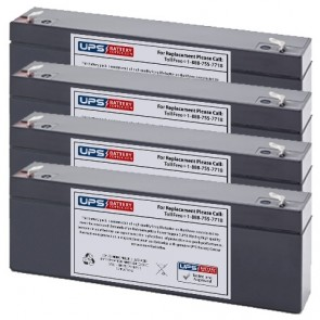Clary I1250VA Compatible Replacement Battery Set