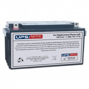 CooPower 12V 65Ah CP12-65 Battery with NB Terminals
