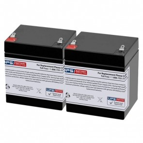 Criticare Systems 8100EP1 12V 5Ah Medical Batteries with F1 Teminals