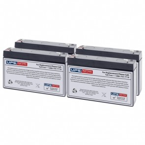 CyberPower OR1000LCDRM1U Compatible Replacement Battery Set
