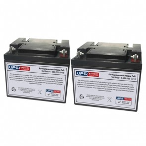 Datascope 90 Balloon Pump Medical Batteries - Set of 2