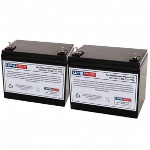 Drive Medical King Cobra 24V 75Ah Battery Set