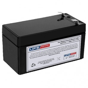 Duracell 12V 1.4Ah DURA12-1.3F Battery with F1 Terminals