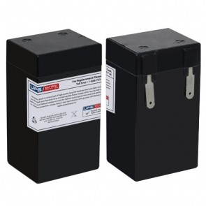 Duramp 6V 2Ah NP2.3-6 Battery with P2 Terminals