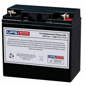 XP10000EH DuroMax 10000 Watt Portable Generator Replacement Battery