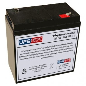 Embassy Crown 6V 36Ah 6CE36 Battery with F2 Terminals