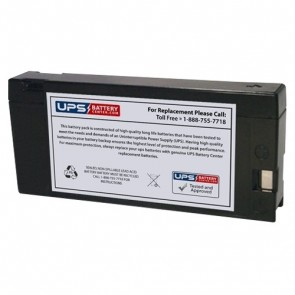 GFX 12V 2Ah PL1220 Battery with PC - Pressure Contact Terminals