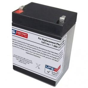 GS Portalac PE12V2.7F1 12V 2.7Ah Battery with F1 Terminals