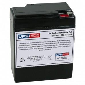 GS Portalac 6V 8.5Ah PE6V8F1 Battery with F1 Terminals