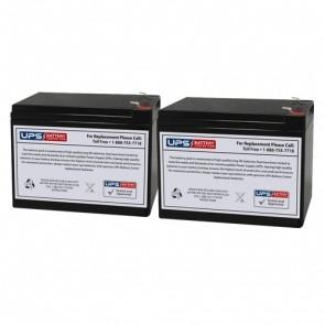 HCF Pacelite 707 24V 10Ah Battery Set