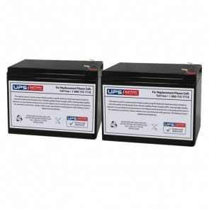 HCF Pacelite 737 24V 10Ah Battery Set