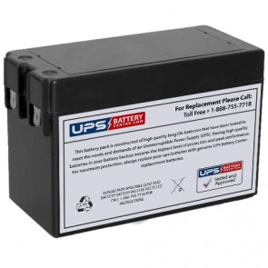 IBT 12V 2.8Ah BT2.8-12S Battery with F1 Terminals