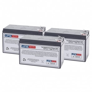 IntelliPower 1100VA 750W FA00257 Compatible Replacement Battery Set