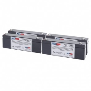 IntelliPower 1100VA 750W FA00360 Compatible Replacement Battery Set