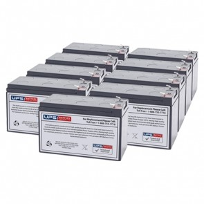 IntelliPower 1100VA 750W FA10223 Compatible Replacement Battery Set