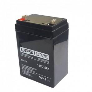 Dahua DHB1228 12V 2.8Ah F1 Replacement Battery(NT12-2.6)