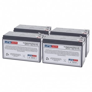 Liebert GXT2-500RT120 Compatible Replacement Battery Set