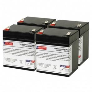 Liebert GXT3-1000MT120 Compatible Replacement Battery Set